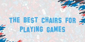 cover image for the best chairs for playing games post