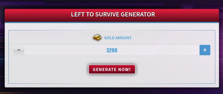 Left to Survive Generator