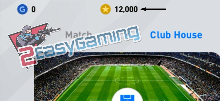 myclub coins added to account proof