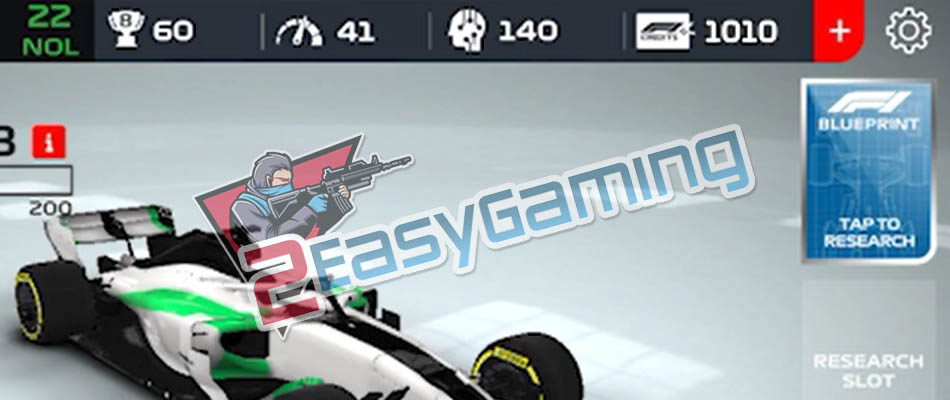 Free Credits for F1 Mobile Racing