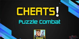 Cover for Puzzle Combat