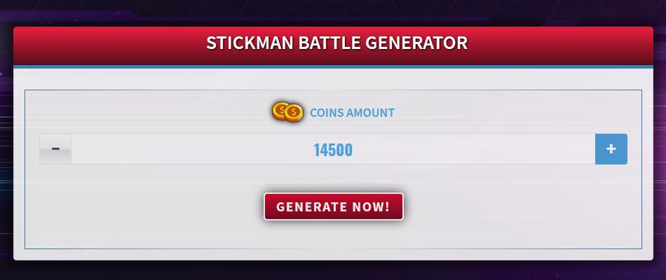 Free Generator for Stickman Battle